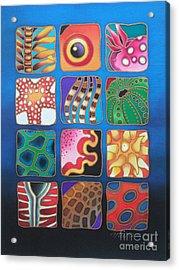 Reef Designs Vii Acrylic Print