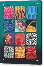 Reef Designs Viii Acrylic Print