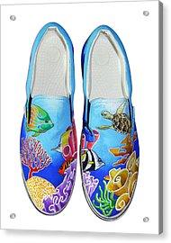 Reef Walkers Acrylic Print