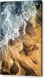 Acrylic Print featuring the photograph Reefy Textures by T Brian Jones