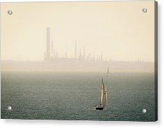Refined Mists Acrylic Print