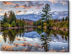 Reflect Acrylic Print by Mark Papke