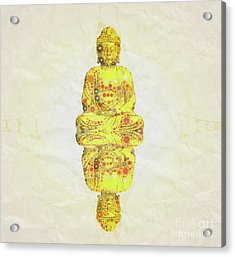 Reflect The Buddha By Mary Bassett Acrylic Print