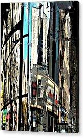 Reflected City 2 Acrylic Print by Sarah Loft