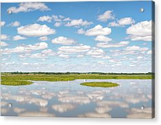 Reflected Clouds - 02 Acrylic Print by Rob Graham