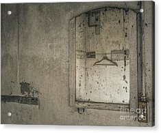 Acrylic Print featuring the mixed media Reflected Past by Terry Rowe