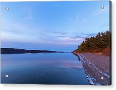 Acrylic Print featuring the photograph Reflecting At The Reservoir by Brian Hale
