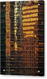 Reflecting Chicago Acrylic Print by Steve Gadomski