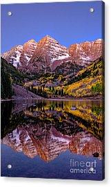 Reflecting Dawn Acrylic Print