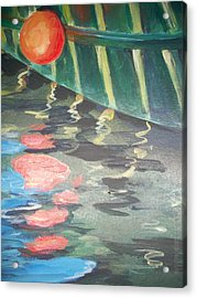 Reflecting Acrylic Print by Mickey Bissell