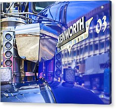 Reflecting On A Kenworth Acrylic Print