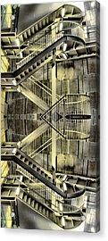 Reflecting Stairs Acrylic Print