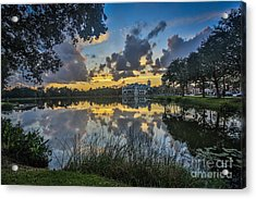 Reflection 5 Acrylic Print by Mina Isaac
