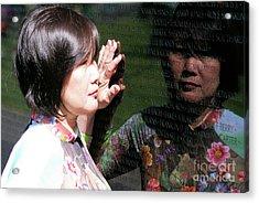 Reflection At The Wall Pt.2 Acrylic Print