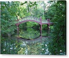 Reflection Bridge Acrylic Print