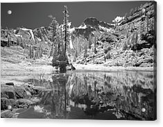 Reflection In Bagley Lake Acrylic Print