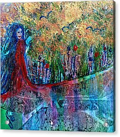 Reflection Acrylic Print by Julie Engelhardt