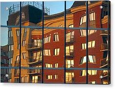 Reflection Le Selection Acrylic Print by Elisabeth Van Eyken