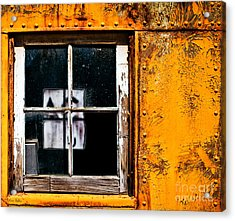 Reflection Of Light In The Midst Of Decay Acrylic Print