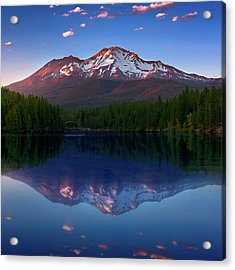 Reflection On California's Lake Siskiyou Acrylic Print