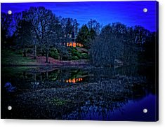 Reflection On The Concord River Acrylic Print