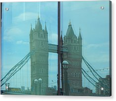 Reflection Tower Bridge Acrylic Print
