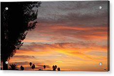 Reflections At The Close Of Day Acrylic Print by Glenn McCarthy Art and Photography