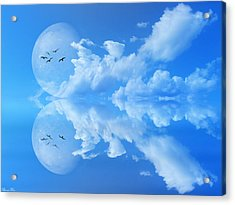 Acrylic Print featuring the photograph Reflections by Bernd Hau