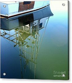 Acrylic Print featuring the photograph Reflections by Carol Grimes