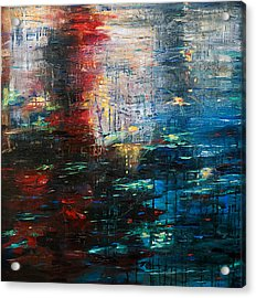 Reflections Cityscape Acrylic Print