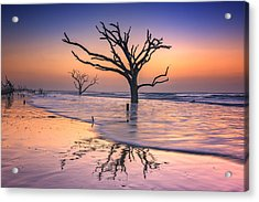 Reflections Erased - Botany Bay Acrylic Print