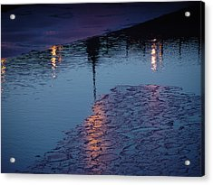 Reflections Acrylic Print by Eric Workman