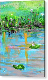 Reflections In Spring Acrylic Print