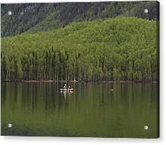Reflections In The Lake Acrylic Print