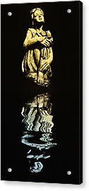 Reflections In The Moonlight Acrylic Print by Bill Cannon