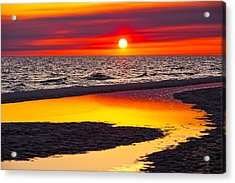 Reflections Acrylic Print by Janet Fikar