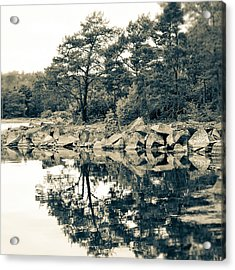 Reflections Acrylic Print by Karen Stahlros