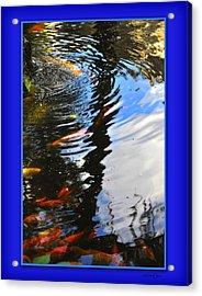 Reflections Acrylic Print by Linda Olsen