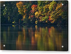 Reflections Of Colors Acrylic Print