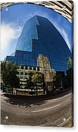 Reflections Of Fort Worth Acrylic Print