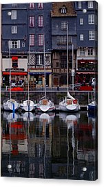 Acrylic Print featuring the painting Reflections Of France by Nancy Bradley