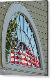 Reflections Of Independence Acrylic Print