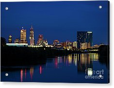 Acrylic Print featuring the photograph Reflections Of Indy - D009911 by Daniel Dempster