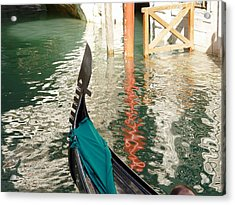 Acrylic Print featuring the photograph Reflections Of Italy 1. by Nancy Bradley