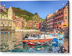 Reflections Of Italy Acrylic Print