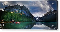 Acrylic Print featuring the photograph Reflections Of by John Poon
