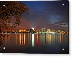 Reflections Of Madison Acrylic Print
