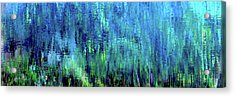 Reflections Of Monet 8155 H_12 Acrylic Print