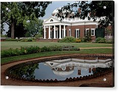 Reflections Of Monticello Acrylic Print