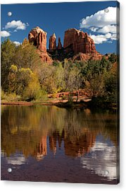 Reflections Of Sedona Acrylic Print by Joshua House